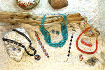 Spectacular jewelry is meticulously handcrafted by Navajo, Zuni and other western artisans.
